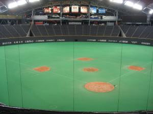 Pemandangan Dalam Sapporo Dome