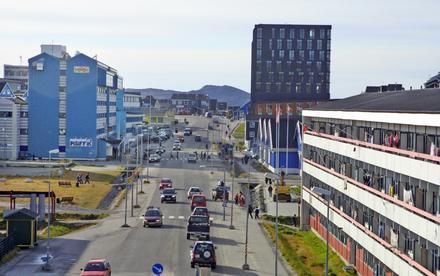 Bandar Nuuk/Ibu kota Greenland