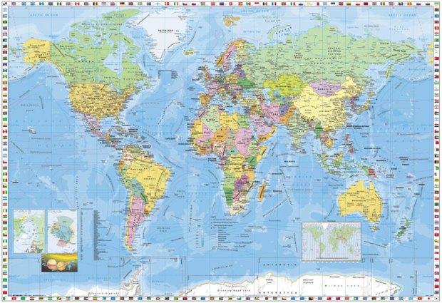 Peta Dunia Versi Mural