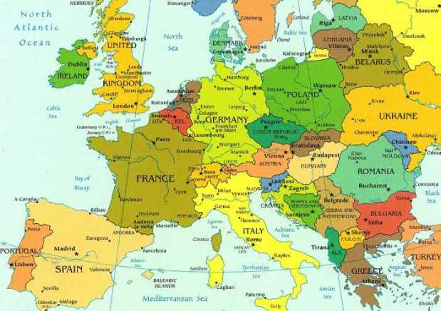 political-map-europe