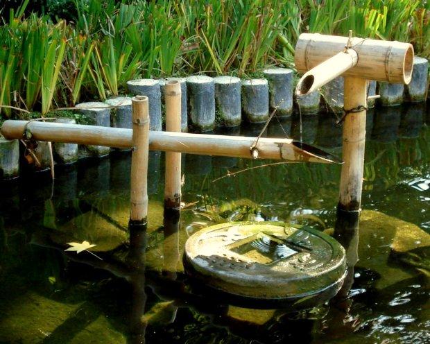 Air Pancur Buluh juga Komponen Penting Taman Jepun