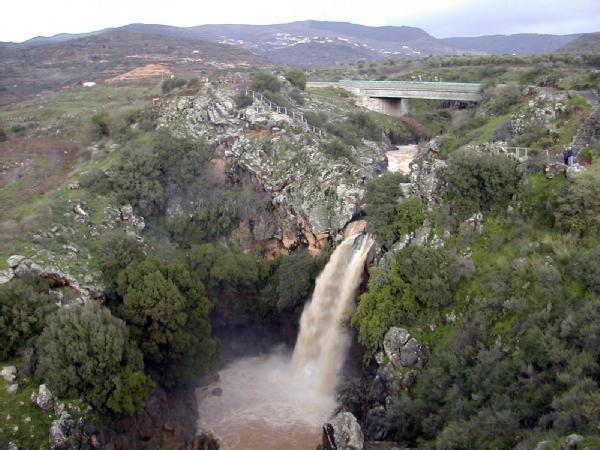 Air terjun bukit Golan